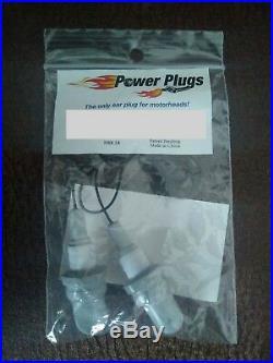 100 Pair Corded Power Plugs Spark Plug Ear Plugs -NHRA Drag Race Nascar Hot Rod