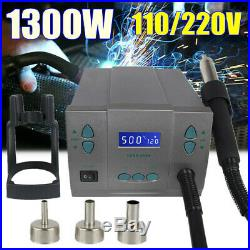 861X 110/220V 1300W High Power Hot Air Quick Soldering Station Rework Station