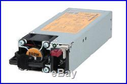 Flex Slot Platinum Hot-plug 800w 720479-b21 723599-001 Power Supply HP Gen9 G9