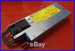HP 1500W Platinum Plus Hot Plug POWER SUPPLY SP/N 704604-001 684529-001