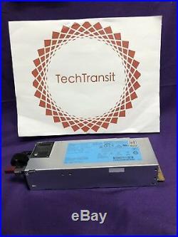 HP 723595-101 HSTNS-PD40 500W Slot Platinum Hot Plug Power Supply DPS-500AB-13 A