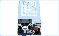 HP 866729-001 Power Supply 500w 80 Plus Plnum Hot Plug Fo