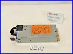 HP Power Supply 750w Hot Plug For HP Proliant Dl360e G8 Dl380e G8 643955-101