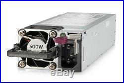 HPE 500W Flex Slot Platinum Hot Plug LH Power Supply Gen10 865408-B21 866729-001