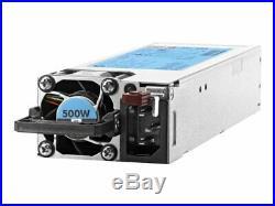 HPE 500W Flex Slot Platinum Hot Plug Power Supply Kit-720478-B21
