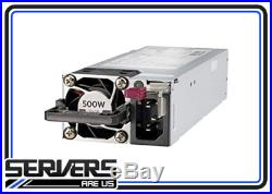 HPE 865408-B21 500W Flex Slot Platinum Hot Plug Low Halogen Power Supply Kit