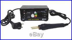 Hot Stapler Plastic Repair System Euro Plug 92466 by Power-Tec New