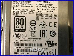New Cisco UCSC-PSU1-770W V03 770W AC Hot-Plug Power Supply C-Serie UCS C220 M