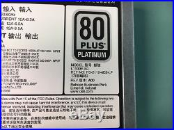 New Dell 38gyj / L1100e-s0 80 Plus Platinum 1100w Hot Plug Power Supply