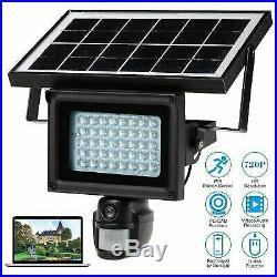 Outdoor Security Camera Solar-Powered 960P Video Rechargeable Battery Cam Hot